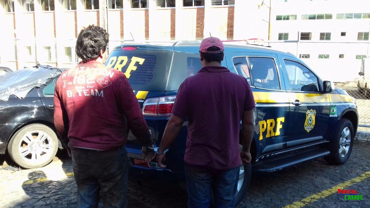 PRF prende trio que desviava cargas de óleo de soja; líquido furtado era substituído por sebo