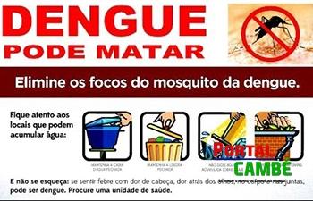 Neste sábado tem Mutirão contra a dengue no Cambé II e região central da cidade