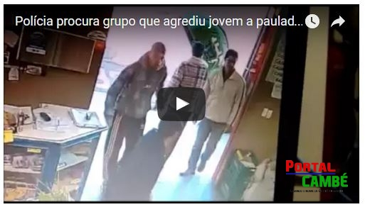 Polícia procura grupo que agrediu jovem a pauladas em supermercado