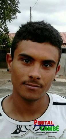 Rodrigo Laurindo Santiago de 24 anos
