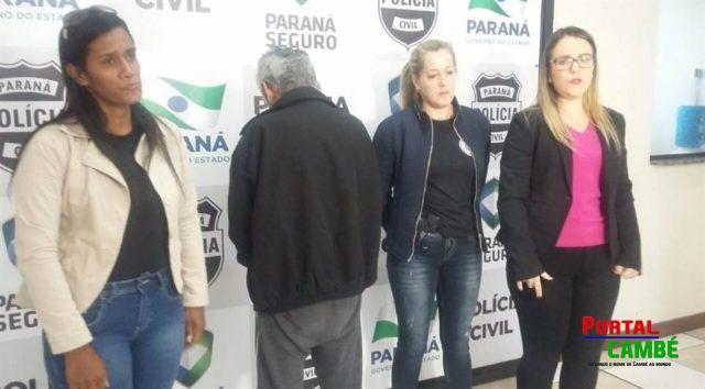 Delegada e investigadoras apresentam o caso à imprensa (Foto: Sílvia Vilarinho/Rede Massa)