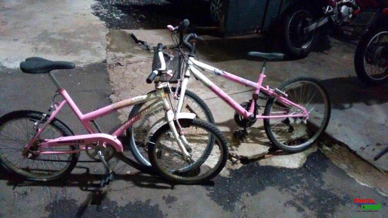 Bicicletas são encontradas abandonadas no Jardim Santo Amaro em Cambé