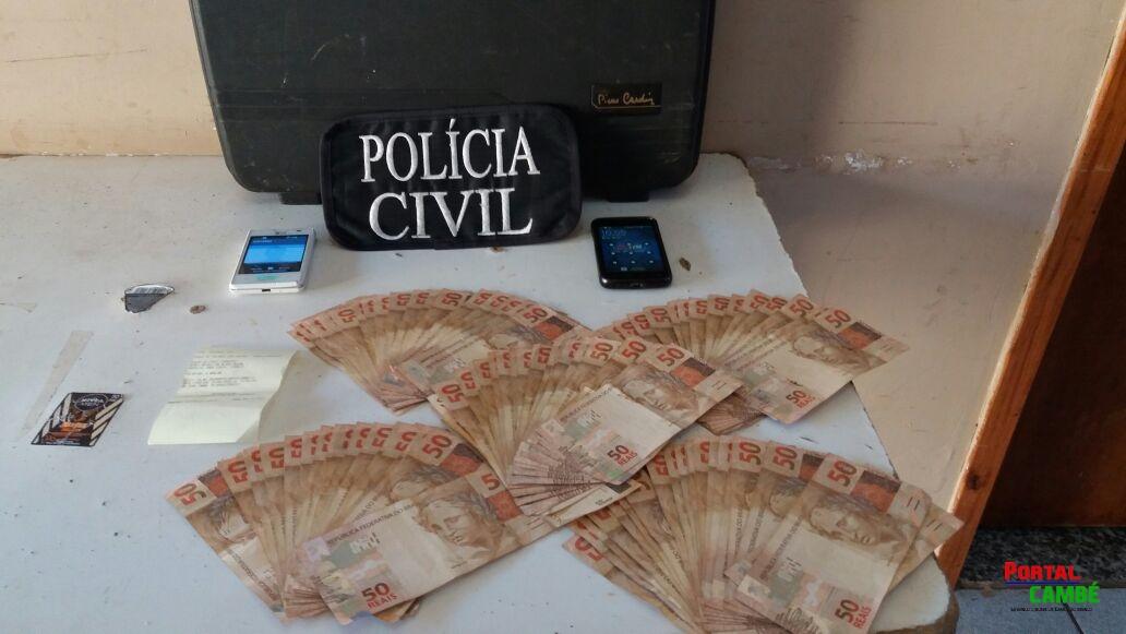 Suspeitos de darem golpe em imobiliária em São Paulo são presos no Jardim Ana Eliza 2 em Cambé