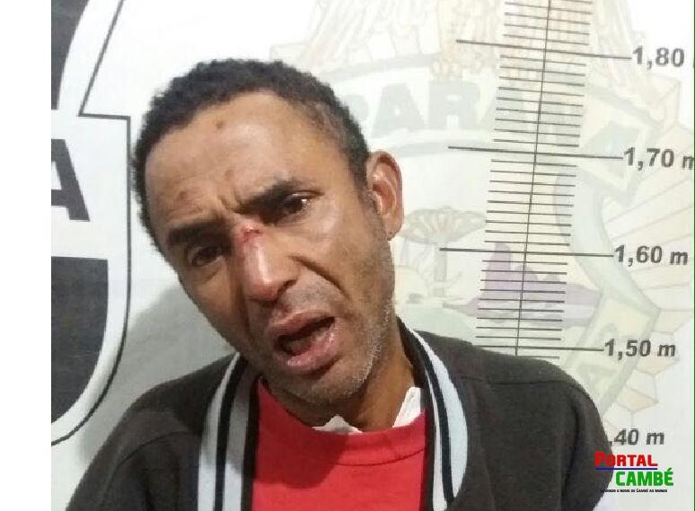 Acidente deixa uma pessoa ferida no Jardim Silvino em Cambé