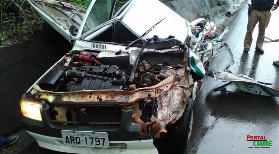 Funcionário de empresa de Cambé morre em acidente na BR-153