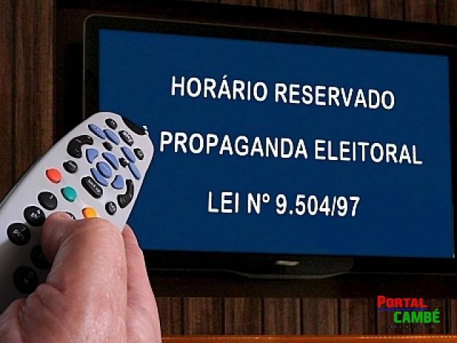 Pela primeira vez Cambé terá propaganda eleitoral na TV aberta