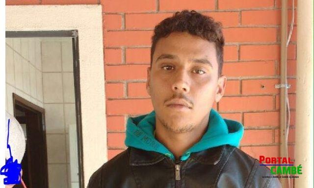 Leandro dos Santos Júnior de 20 anos