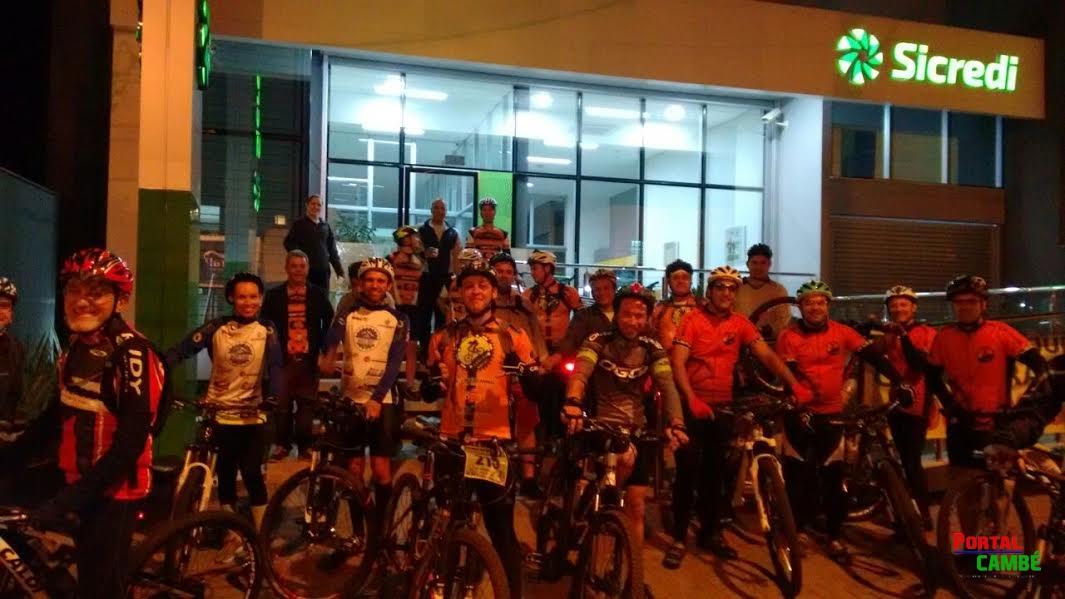 Agência da Sicredi União de Cambé reúne Turma do Pedal
