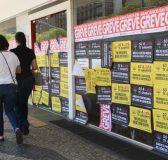 A greve dos bancários completa 30 dias Elza Fiúza/Agência Brasil