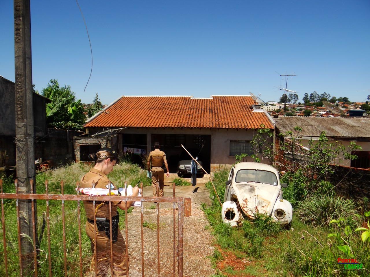 Corpo em estado de decomposição é encontrado dentro de casa no Jardim Novo Bandeirantes em Cambé