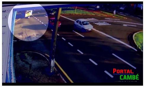 Vídeo mostra atropelamento fatal na Leste Oeste em Londrina
