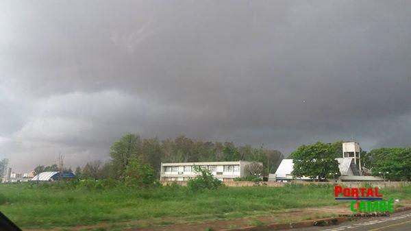 INMET emite alerta para tempestades no Paraná nesta quarta