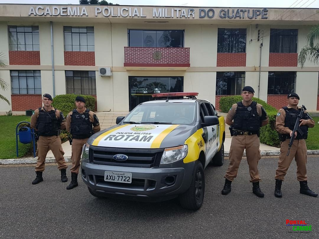 Polícia Militar de Cambé faz Curso de Nivelamento da Rondas Ostensivas Tático Móvel