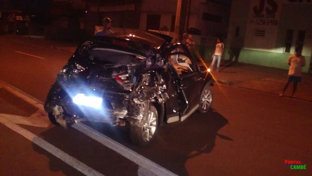 Tragédia anunciada; Jovem morre apos atropelar cavalo na PR 445 em Cambé