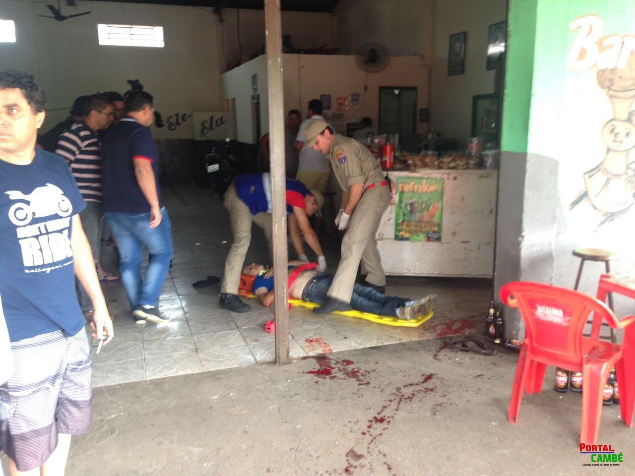 Dois homens são feridos por arma de fogo no Centro de Cambé