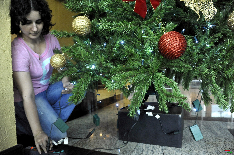 Copel alerta sobre cuidados com a decoração do Natal