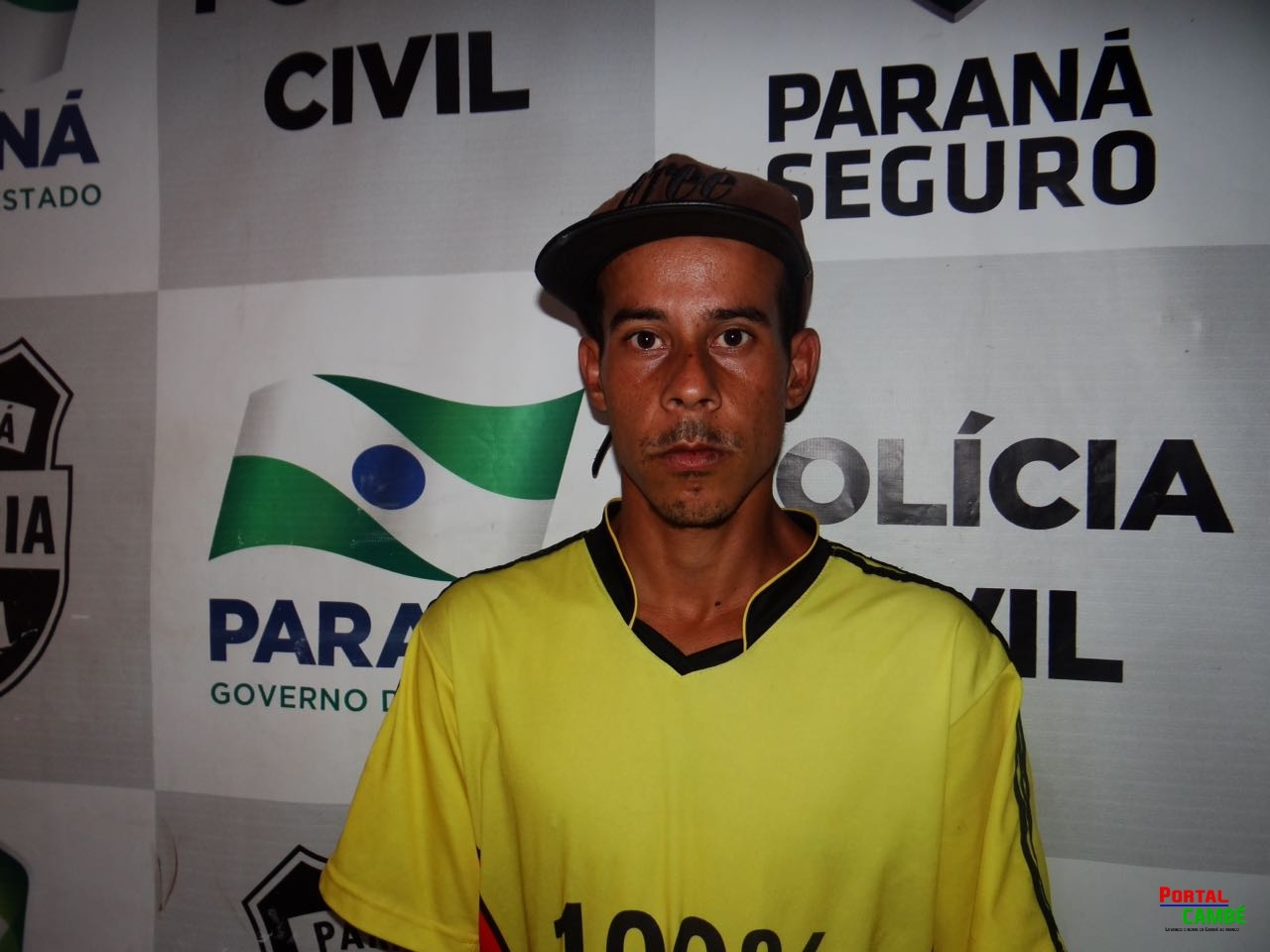 Jovem é preso no Jardim Alvorada em Cambé, suspeito de roubo a celular