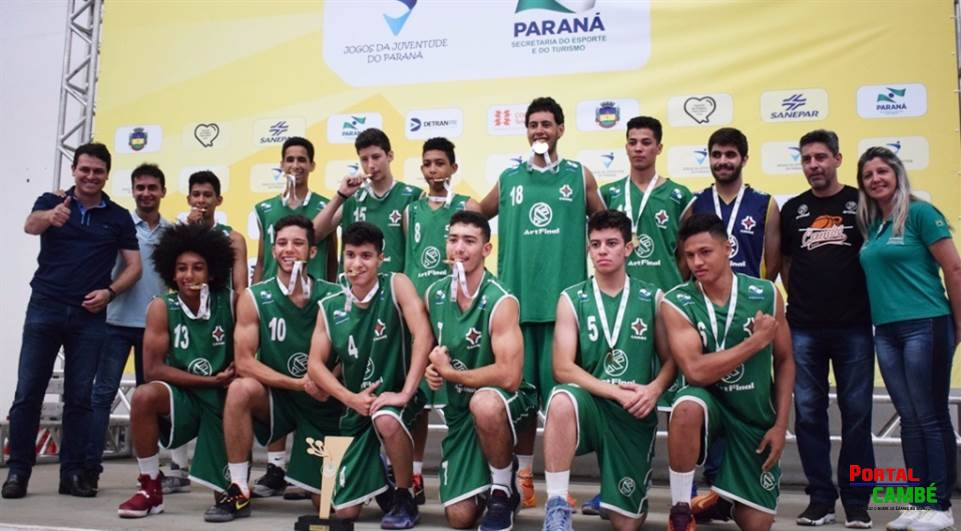 Cambé fatura o título do basquetebol masculino no JOJUPs