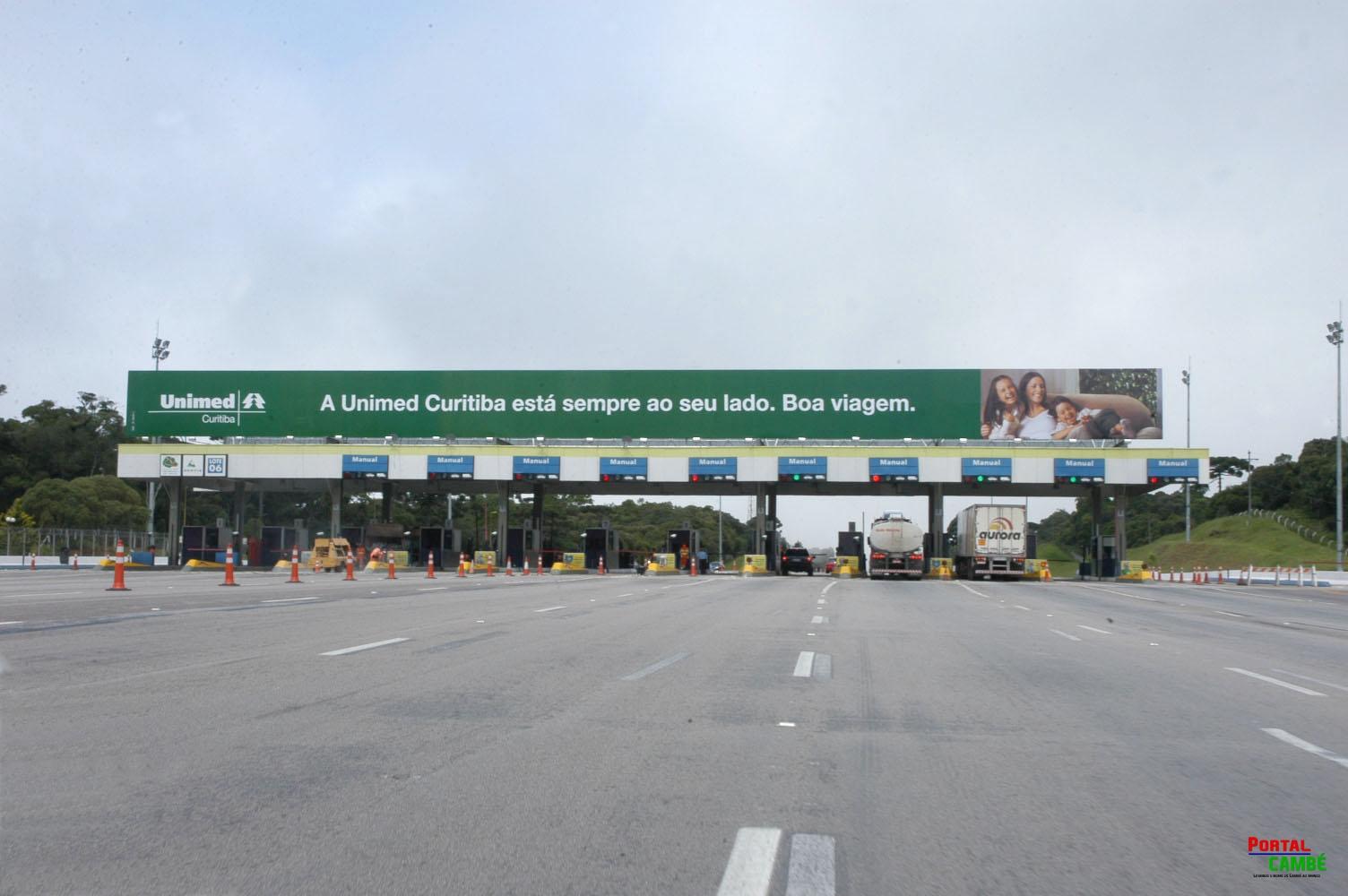 Pedágios nas estradas do Paraná ficam mais caros a partir do dia 1º