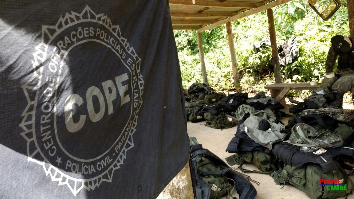 Policial Civil de Cambé conclui curso de Operações Policiais em Curitiba