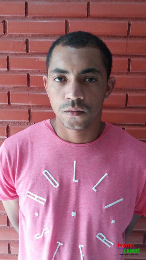 Suspeito de envolvimento de roubos a veículos é preso pela Polícia Militar de Cambé