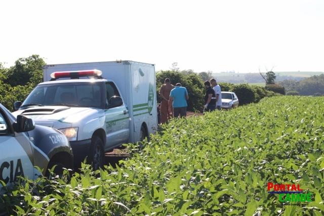 Jovem de 19 anos é encontrado morto e amarrado pelos pés na Estrada da Prata em Cambé