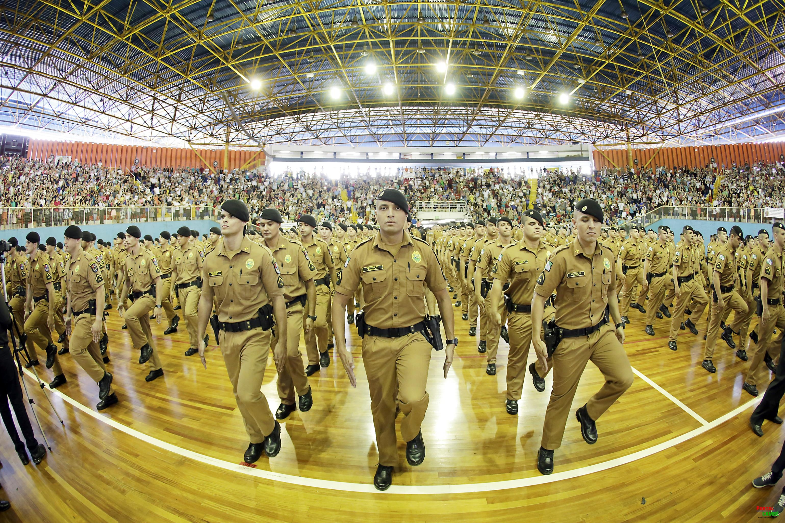 Richa anuncia reforço de mais 2.736 soldados no contingente da PM