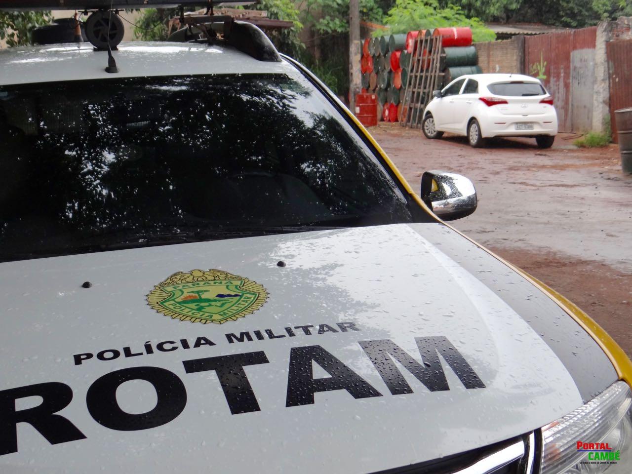 Veículo roubado em Londrina é encontrado abandonado no Jardim União em Cambé