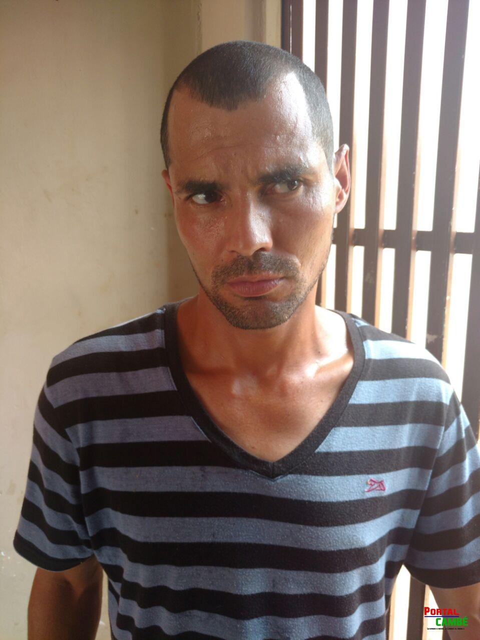 Polícia Militar cumpre mandado de prisão no Jardim Santo Amaro em Cambé