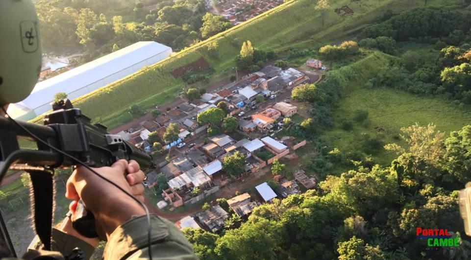 Dupla é presa após trocar tiros com a PM no Novo Amparo