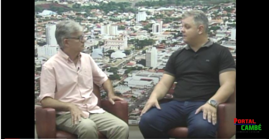 Entrevista com o vereador Fábio Fernandes (Pio) do PSDB de Cambé (Vídeo)