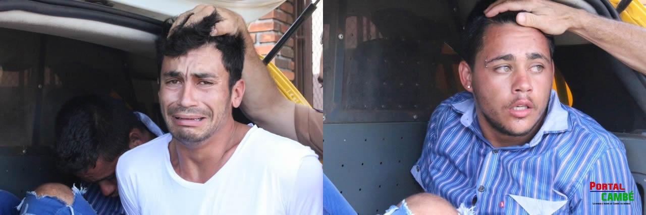 Ação rápida da Polícia Militar prende 2 homens que tentaram assaltar casa de Show em Cambé