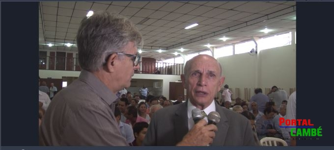 José do Carmo toma posse para seu 4º mandato como prefeito de Cambé (Vídeo)