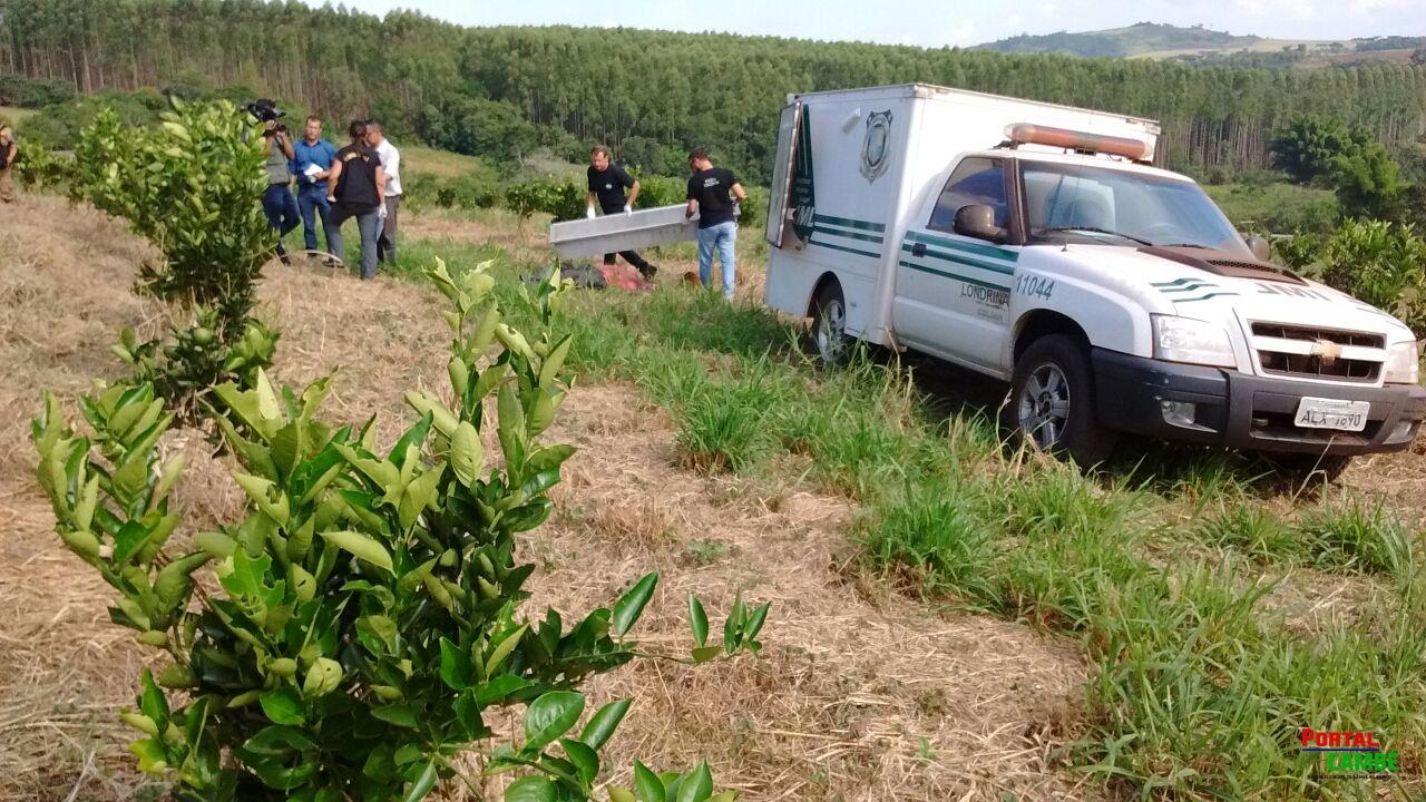 Caseiro de sítio é encontrado morto em plantação de laranja