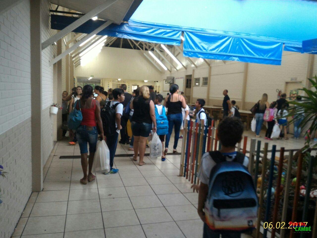 Mais de 9 mil alunos voltam as aulas nas escola municipais de Cambé