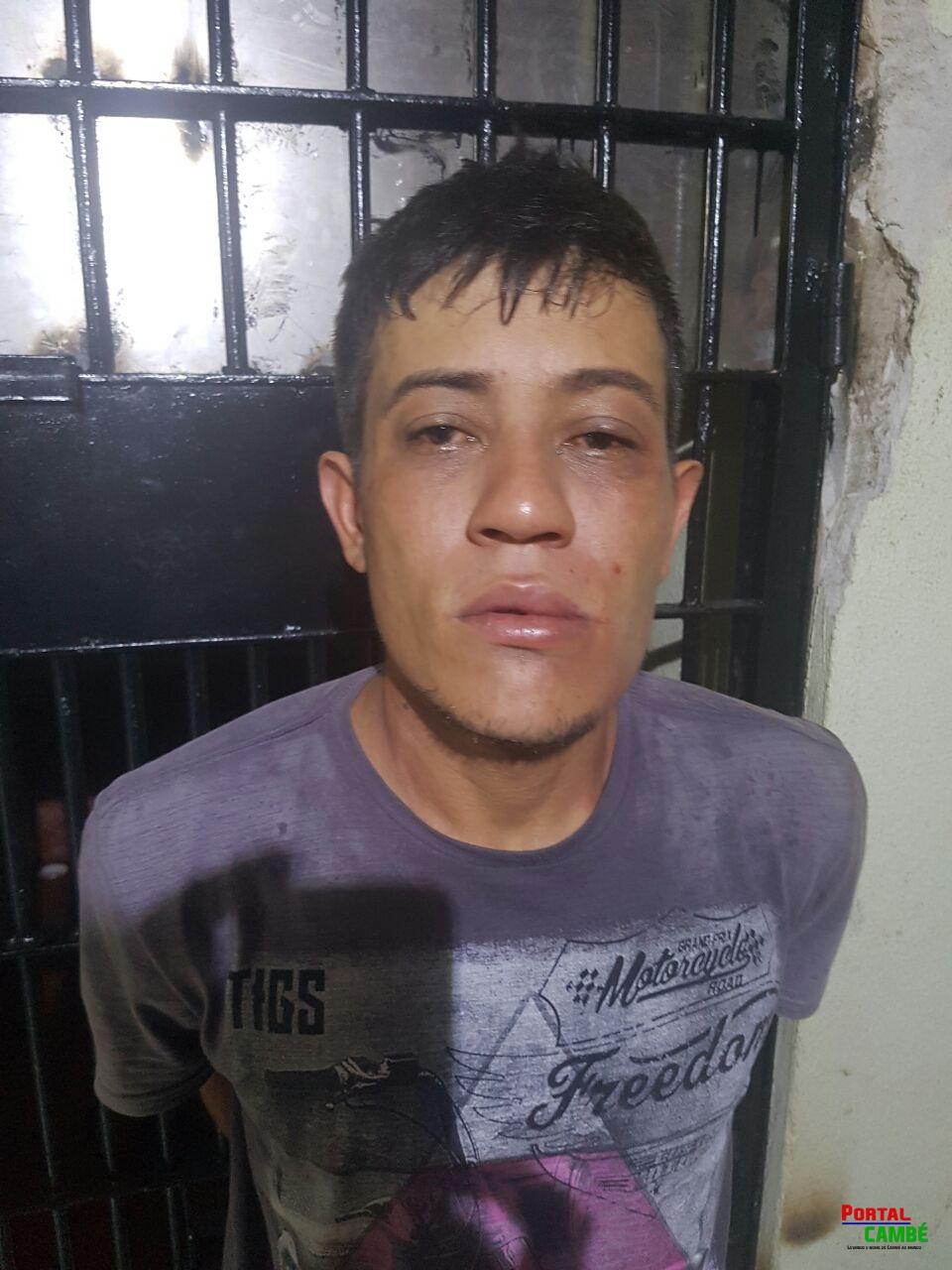 Após roubar motocicleta em Cambé suspeito é preso em Londrina