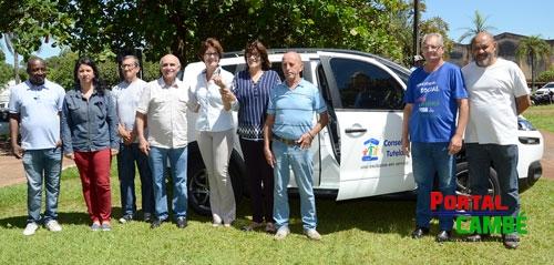 Ministério dos Direitos Humanos entrega veículo para o Conselho Tutelar