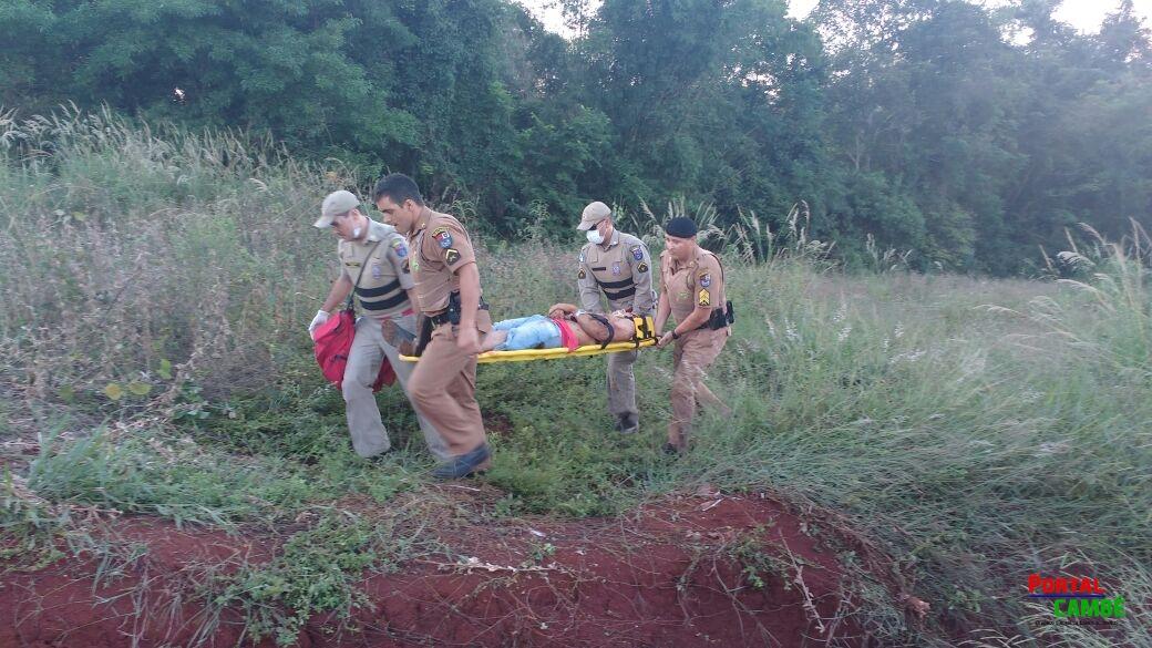 Ação rápida da Polícia Militar de Cambé recupera veículo roubado em lava-rápido; bandido acabou baleado
