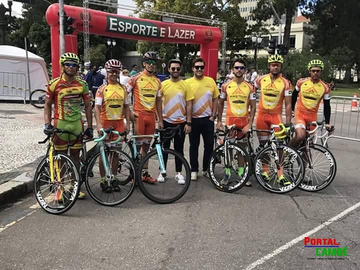Equipe de Cilicismo de Cambé trás ótimos resultados de prova realizada em Curitiba