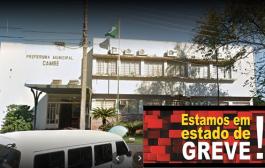 """Servidores Municipais de Cambé aprovam """"estado de GREVE"""""""