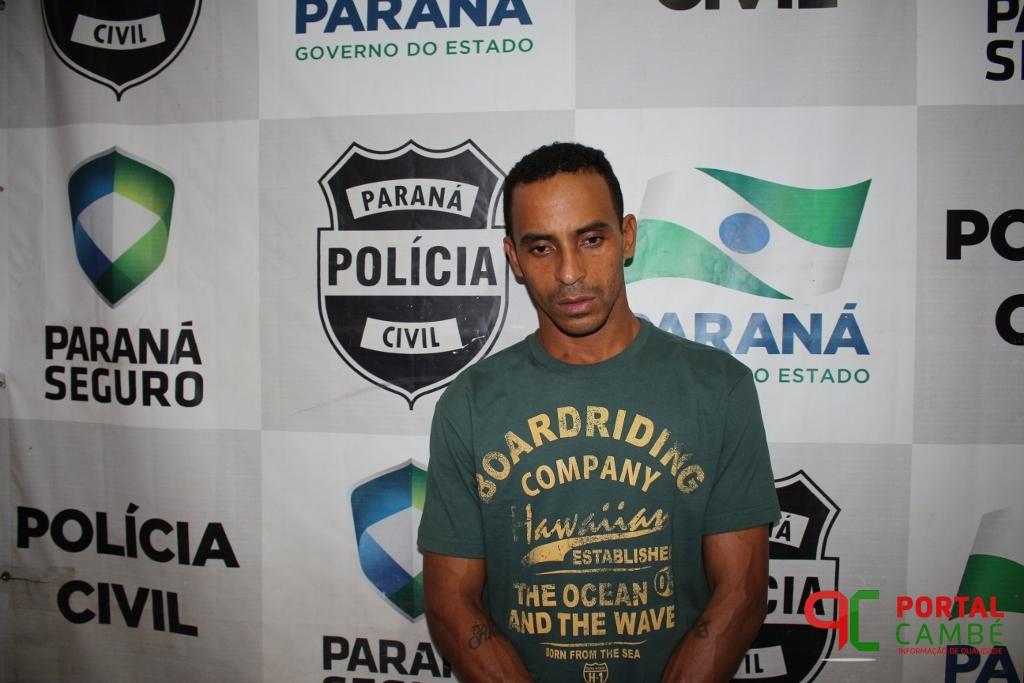 Homem é preso acusado de tráfico de drogas em Cambé