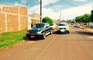 Veículo furtado é localizado abandonado no Jardim Bela Itália em Cambé