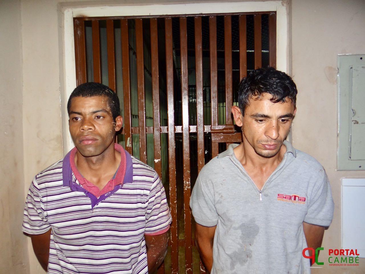 PM recupera celular e dinheiro roubados e prende suspeitos no Jardim Tupi em Cambé após roubo