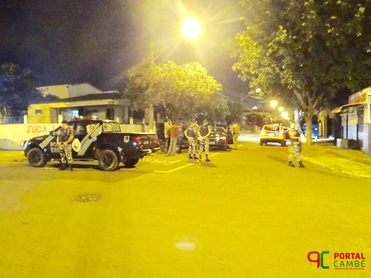 Veículo roubado é abandonado no Jardim Novo Bandeirantes em Cambé