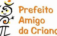 Prefeitura adere ao Programa Prefeito Amigo da Criança