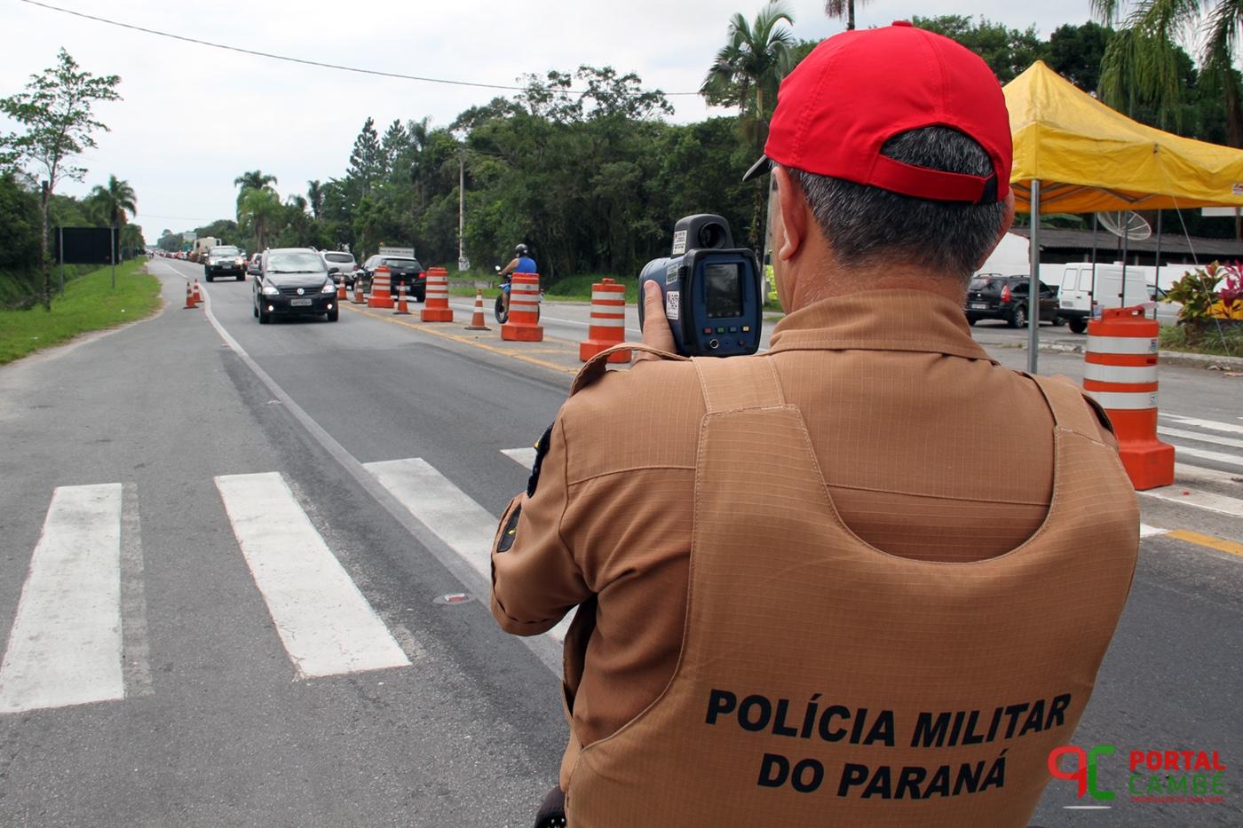 Polícia amplia a fiscalização nas rodovias estaduais durante o feriado