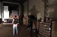 Polícia Civil de Cambé recupera parte da carga roubada no Centro de Distribuição do Super Muffato em Cambé,