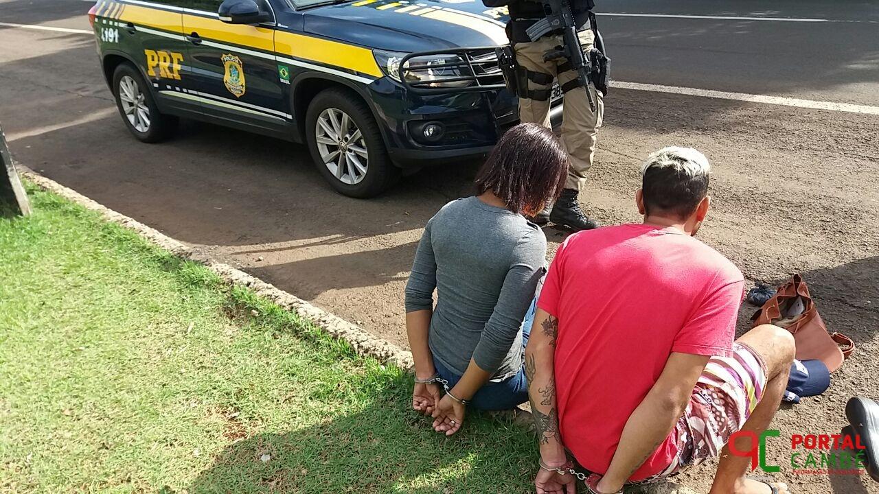 PRF prende casal por tráfico de drogas em Ibiporã.