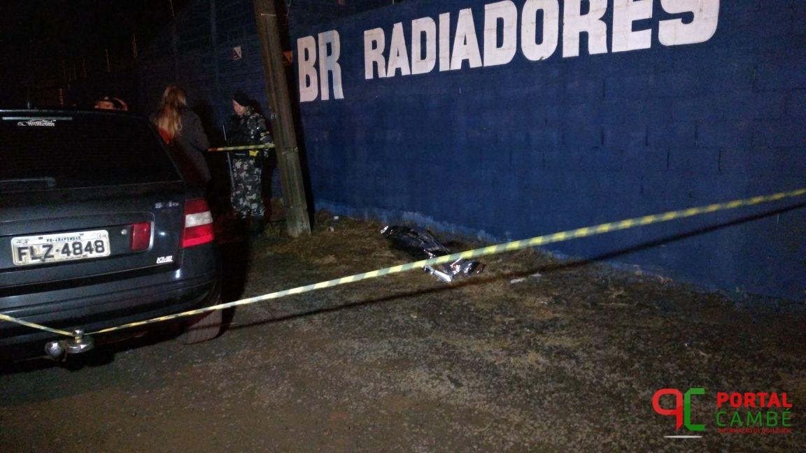 Após roubar veículo em Cambé assaltante morre em confronto com a PM na cidade de Arapongas