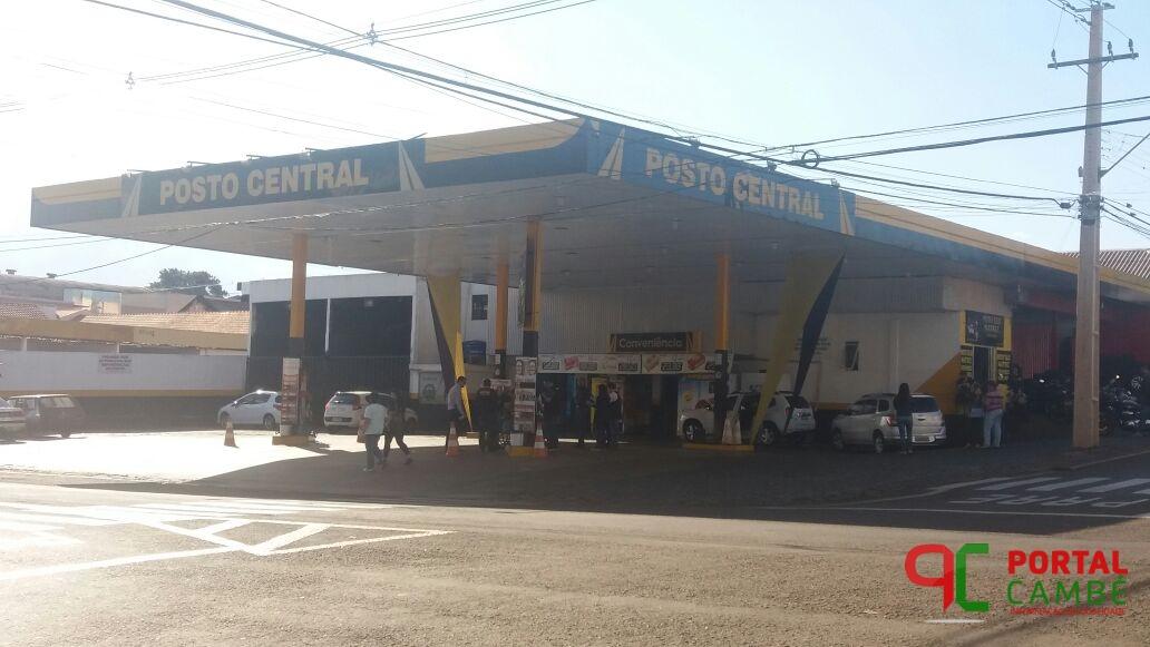 Gaeco encontra gasolina adulterada em posto de combustíveis de Cambé
